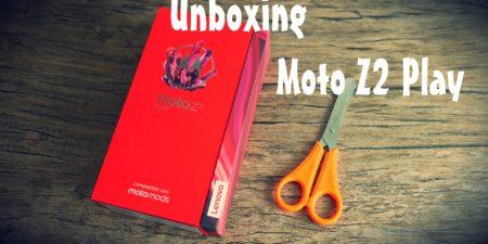 Unboxing en español del Moto Z2 Play