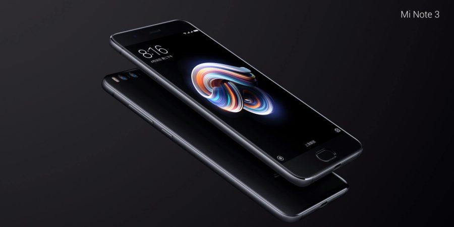El Xiaomi Mi Note 3 llega con doble cámara principal