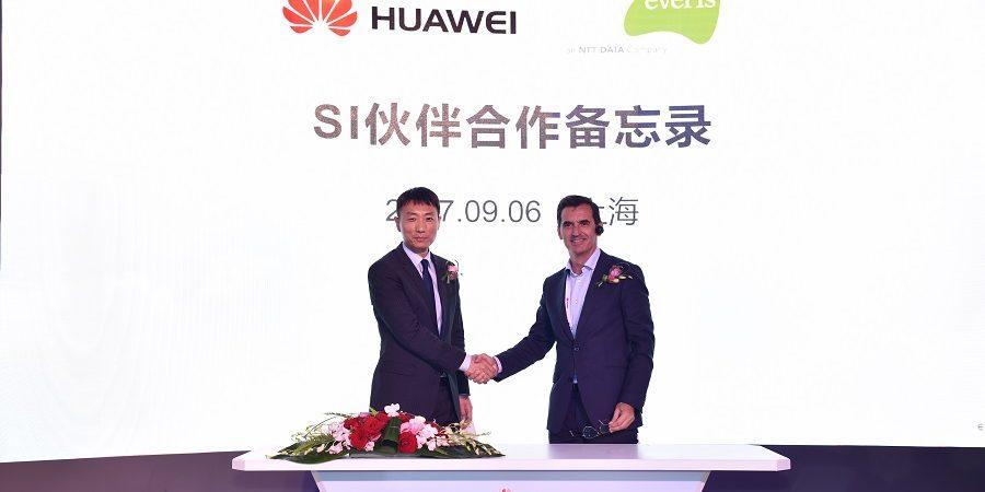 everis y Huawei firman una alianza global para la asociación de sistemas integradores
