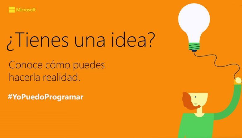 #YopuedoProgramar: Iniciativa de Microsoft por el Día Internacional de la Niña