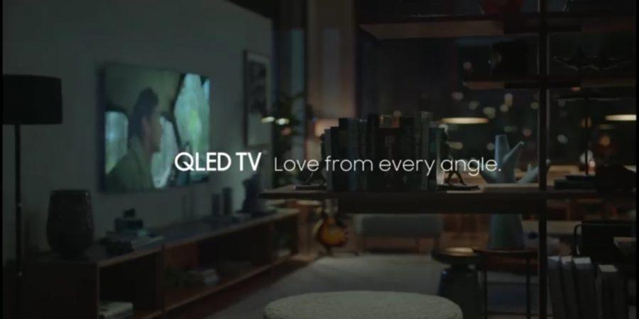 'Viva el amor desde todos los ángulos con el televisor QLED de Samsung' es el tema de la nueva campaña de la marca para sus televisores premium