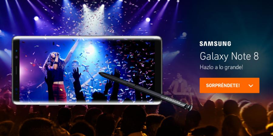 Ya puedes reservar el Samsung Galaxy Note 8 en Entel Perú