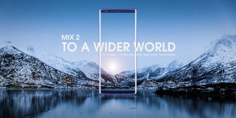 DOOGEE MIX 2, un smartphone todo pantalla y cuatro cámaras ya está en preventa en Banggood