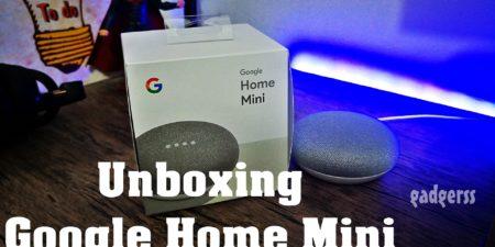 Unboxing en español del Google Home Mini