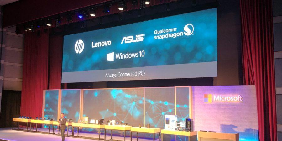 Microsoft revela la PC Always Connected para habilitar una nueva cultura de trabajo
