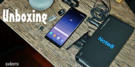 Unboxing en español del Samsung Galaxy Note8