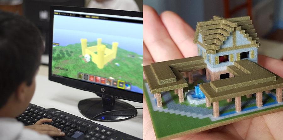Lo nuevo este Verano 2018: Taller de Impresión 3D con Minecraft