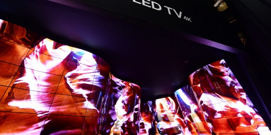 CES 2018: 'LG OLED Canyon' destaca con instalación única inmersiva