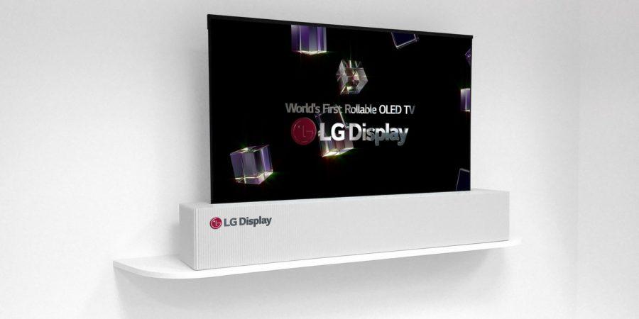 LG Display presenta un televisor OLED de 65 pulgadas enrollable