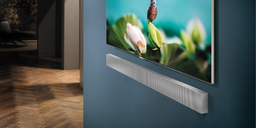 Samsung presentará nueva barra de sonido con soporte de pared en el CES 2018