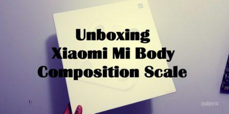 Unboxing en español de la Xiaomi Mi Body Composition Scale