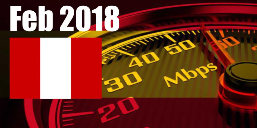 [Perú] Estado de las redes móviles de Perú- Febrero de 2018 (4G, 3G y cobertura)
