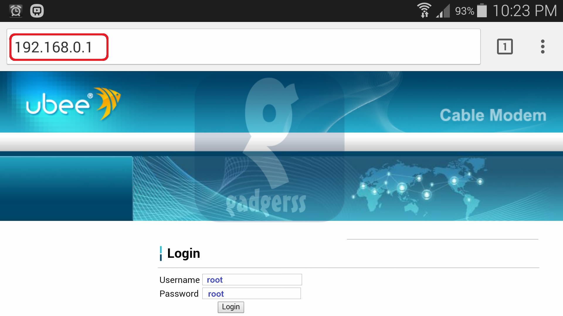 Askey Cable Modem Default Password Movistar