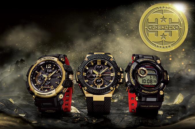 b21ade3752a2 G-SHOCK lanza su nueva colección de aniversario Gold Tornado - Gadgerss