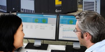 In the compressor business, Atlas Copco monitors customer installations from remote through a system called SMARTLINK.