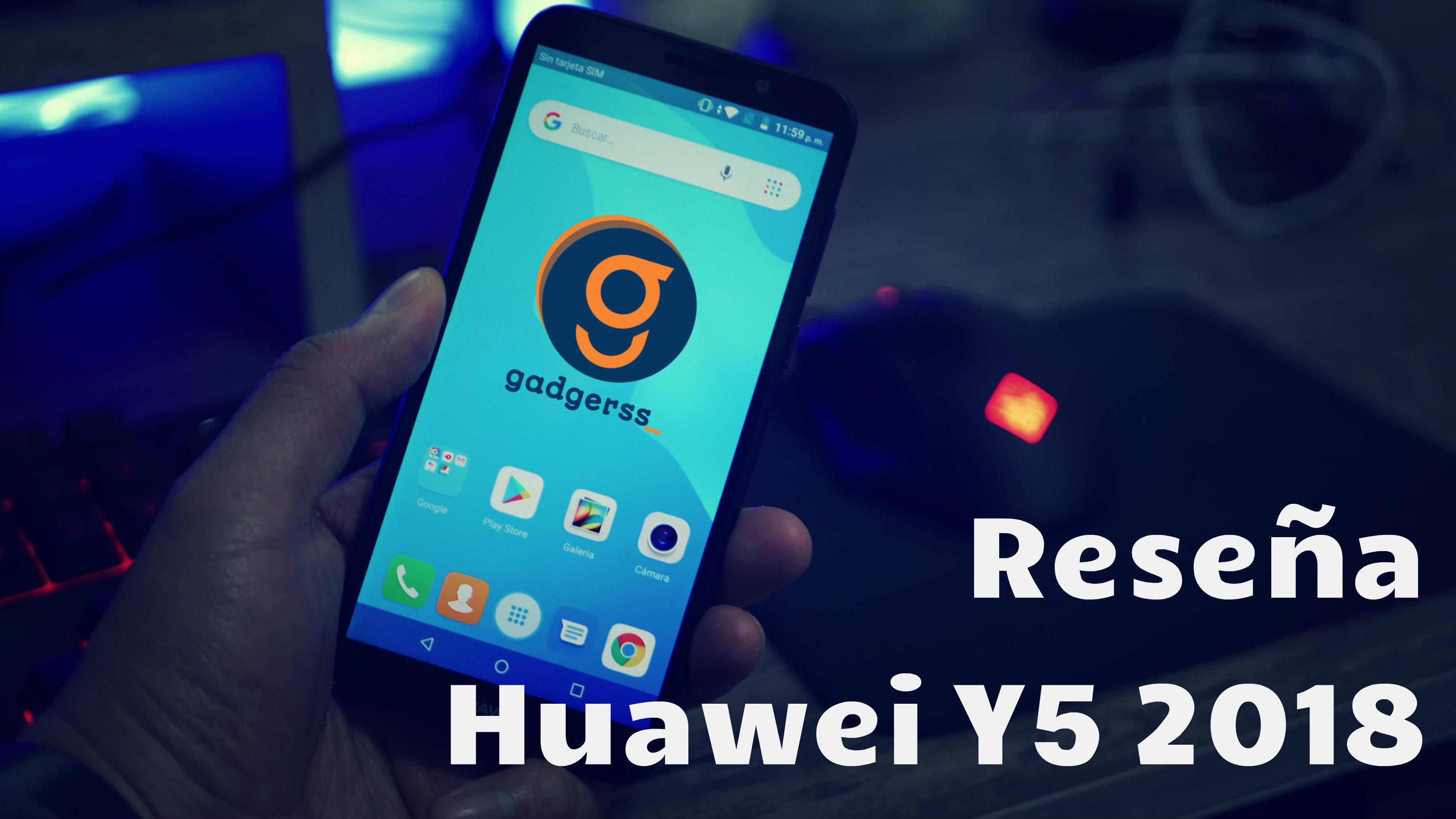 7708ce1f9a502 Reseña del Huawei Y5 2018 (Review en español) - Gadgerss