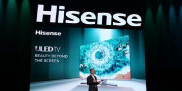 Hisense estrena los últimos avances en tecnología de pantallas en CES y presenta TriChroma Laser TV y el ultradelgado Sonic One TV (PRNewsfoto/Hisense)